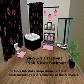 Pink Kisses BathroomSet