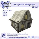 Old Fashioned Cottage mini (box)