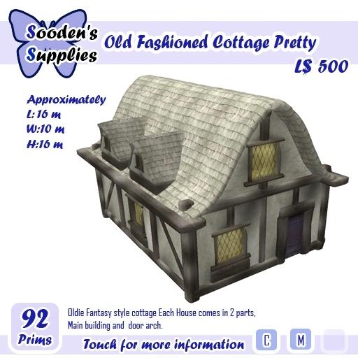 Old Fashioned Cottage Pretty  (box)
