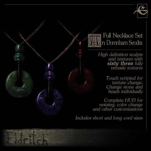 .Eldritch. An Domhan Seodra ~ Necklace
