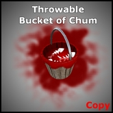 Throwable Bucket Of Chum