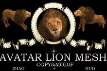 Avatar Lion (mesh)
