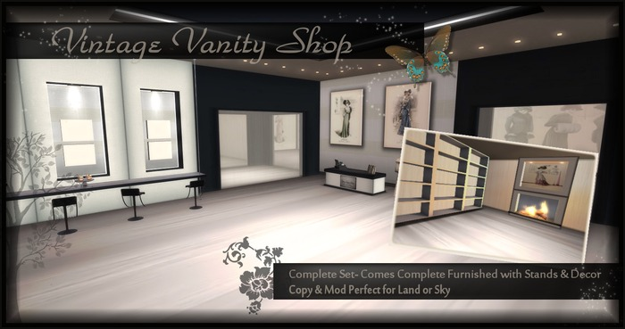 *Vintage Vanity* - Complete Store/ Shop with 4 rooms of decorated sales space!!!