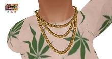 [7891.] - Vation Necklace - Gold (W\Resize)