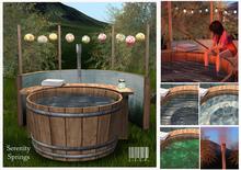 Serenity Springs Hot Tub for Two - LISP Bazaar - Mesh