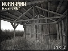 POST: Normanna Hay Shed - Rural Farm Decay