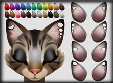 Gauged Feline Ears