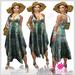 Summer Dress Green Outfit - Casual Lies