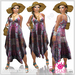 Summer Dress Violet Outfit - Casual Lies
