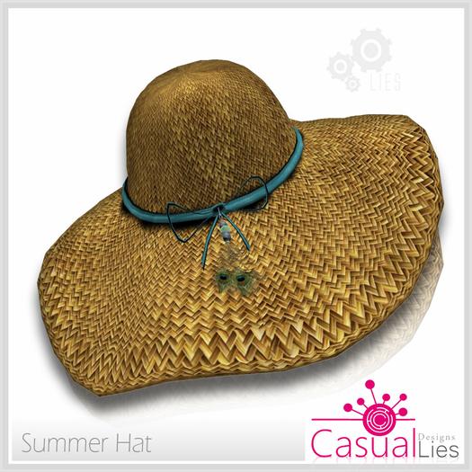Summer Hat Folder - Casual Lies