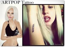 - by: Christina T - ARTPOP Tattoo