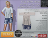 -TD- TEMPLATES - MESH Loose Tops & Denim Shorts Outfit DEMO