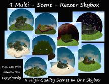 9 Multi Scene Rezzer Skybox