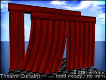 Theatre Curtains - Click to Open and Close