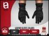 (epia) - Leather Gloves BLACK