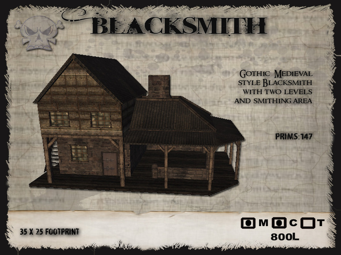 Second Life Marketplace The Forge Blacksmiths
