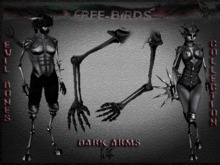 ~~FREE-BIRDS~~ EVIL BONES DARK Female Arms