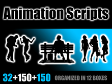 ♥ Ready to use! / Editables Animation Scripts