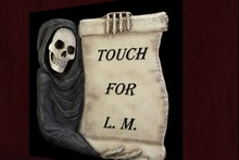 Grim Scroll Touch for Land Mark Sign