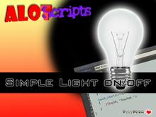 ♥ Simple Light on / off