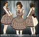 [Wishbox] Classic (Brushed Taupe) - Sweet EGL Victorian Dolly Babydoll Christmas Dress