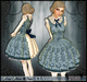 [Wishbox] Classic (Alice Blue) - Pretty Gothic Lolita Wonderland Babydoll Dress EGL Victorian Girl Dolly