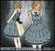 [Wishbox] Classic (Alice Blue) - Pretty Gothic Lolita Wonderland Babydoll Dress EGL Victorian Girl Dolly