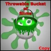 Throwable Bucket of Slime