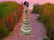 ::JIM:: Spring Ruched Gypsy Skirt 01