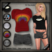 Vendor mesh shirtshorts