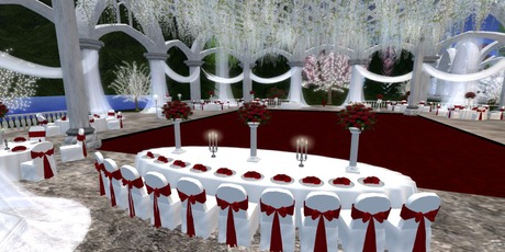 Second Life Marketplace True Love Wedding Venue Set Boxed