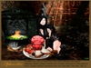 "Aphrodite "" Prosciutto head"" Ham halloween food platter"
