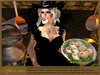 "Aphrodite "" Mummy pizzas"" Fun halloween food platter"