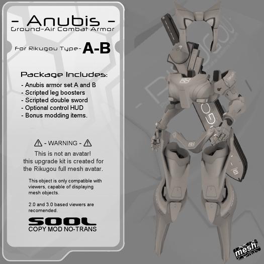 <UTILIZATOR> - Rikugou - Anubis combat armor set