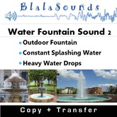 Water Fountain Sound 2 - Large Outdoor Fountain