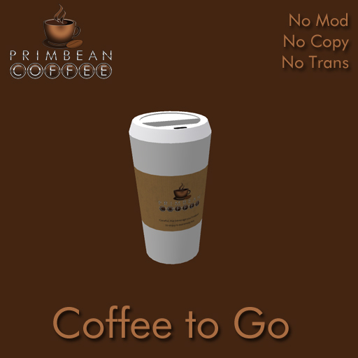 [Primbean Coffee] Coffee to Go