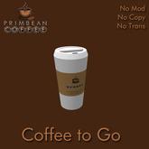 [Primbean Coffee] Coffee to Go
