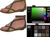 Jim mesh beach sandal texture change