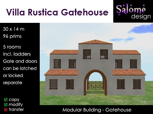 Villa Rustica Gatehouse 1.0