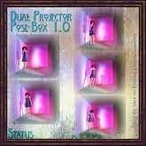 STATUS POSE  DUAL PROJECTOR BOX 1.0 BOXED