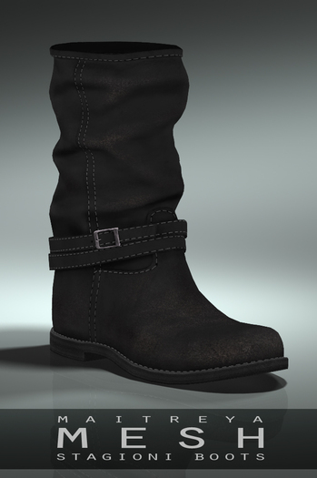 Maitreya Stagioni Boots * Coal
