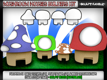 New Mushroom Houses Builders Kit