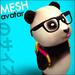 Nerd Bear - Mesh Avatar