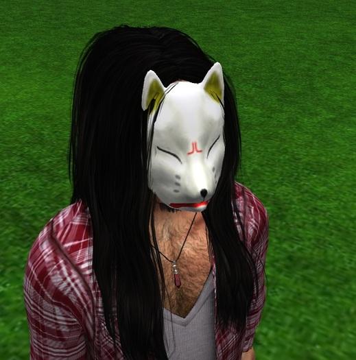 Second Life Marketplace Amu Japanese Kitsune Mask