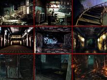 Gothic Grunge Dark Places photo background textures
