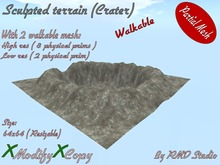 Terrain crater ( Wlakable )