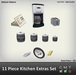 Kitchen Extras, Kitchen Accessories, Realistic Add Ons