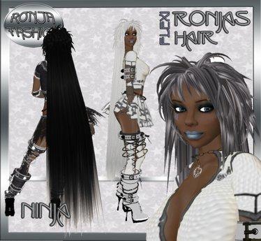 ! Bliss Designs - Hair Ninja - 22 Colors ~ Women's Flexi Hair