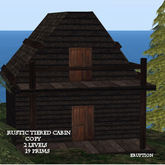 Rustic Tiered Cabin
