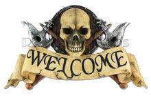 Skull Welcome